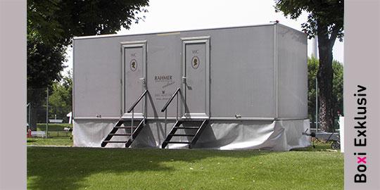 Toilettenwagen-Exklusiv